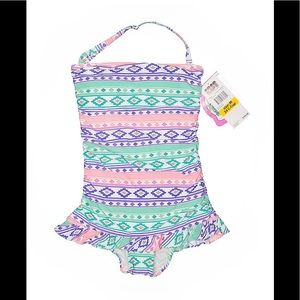 NWT Coco Rave Halter Swimsuit Sz 34C